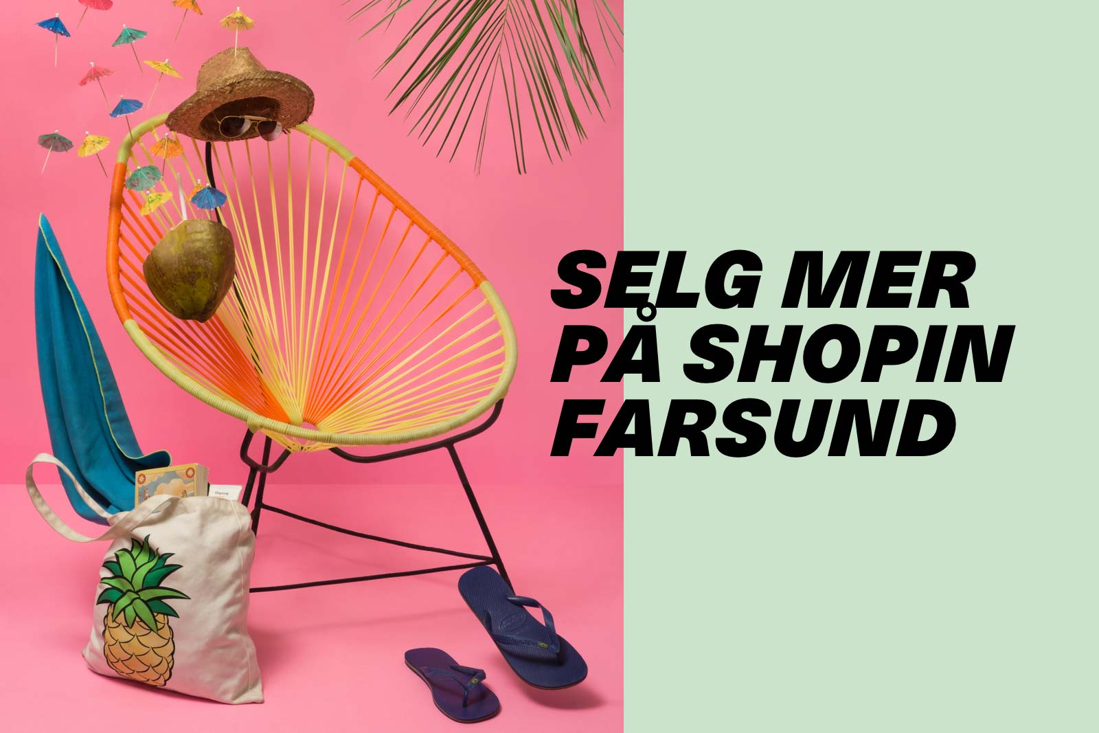 Selg mer på SHOPIN Farsund